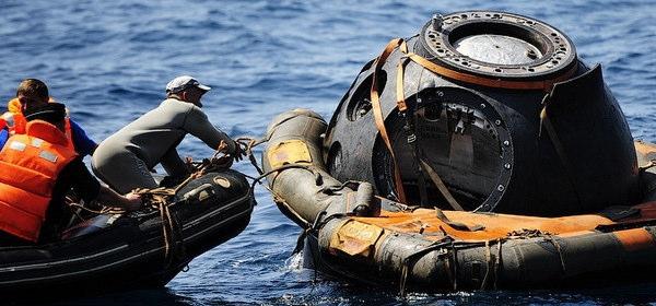 ソユーズ海上回収訓練