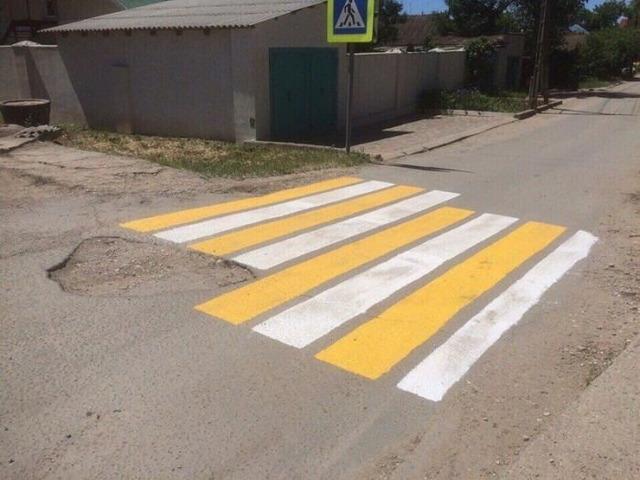 ロシアの横断歩道_6
