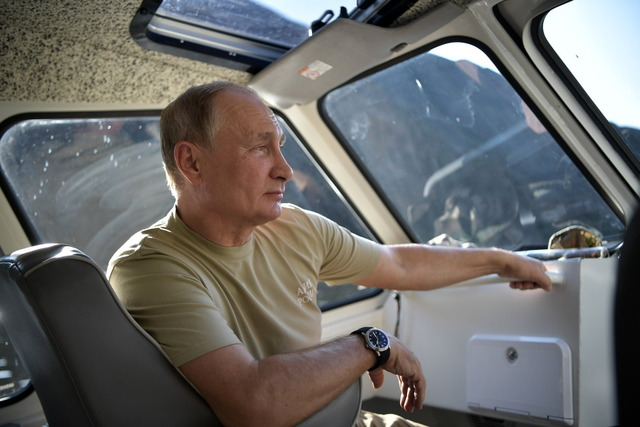 プーチン大統領の夏休み2018_8