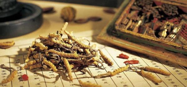 漢方材から残留農薬
