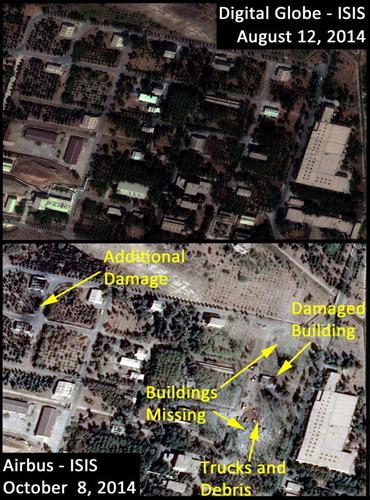 謎の爆発が発生したイラクの核施設