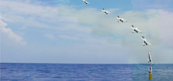 潜水艦から発射できる無人航空機システム(UAS)