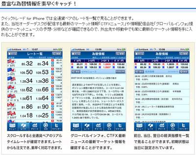 セントラル短資iphone情報画面2
