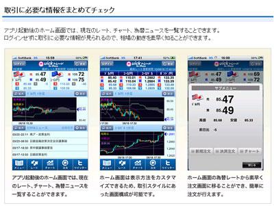 セントラル短資iphone情報画面1