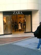 ZARA 新宿店 写真