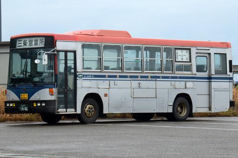 新潟交通観光バス 新潟22か1446 : ざっしーのただ載せてゆくだけ