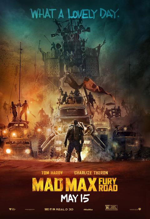 野蛮、狂気、ロック、車、爆発、おねーさん・・・イメージの大洪水!抜きどころしかない映画!『マッドマックス 怒りのデス・ロード』