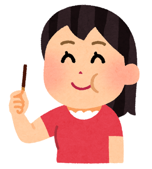 sweets_chocolate_stick_woman