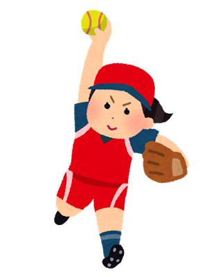 sports_softball_woman