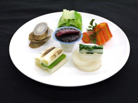 7 江戸東京野菜を使った蒸し野菜