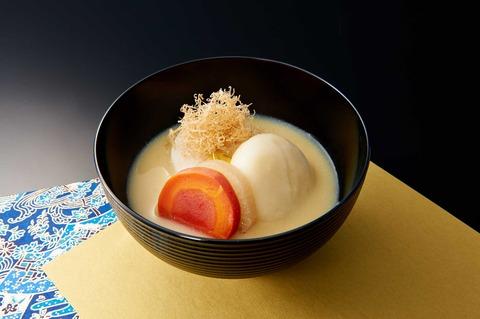 白みそ雑煮(京都市)