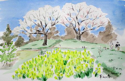 2003峯山の春