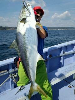 田嶋様 ヒラマサ17,0kg