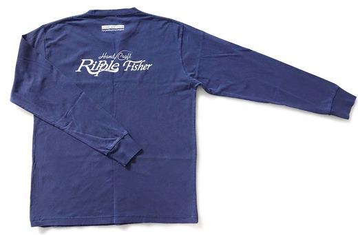 インディゴロングスリーブTシャツ (1)
