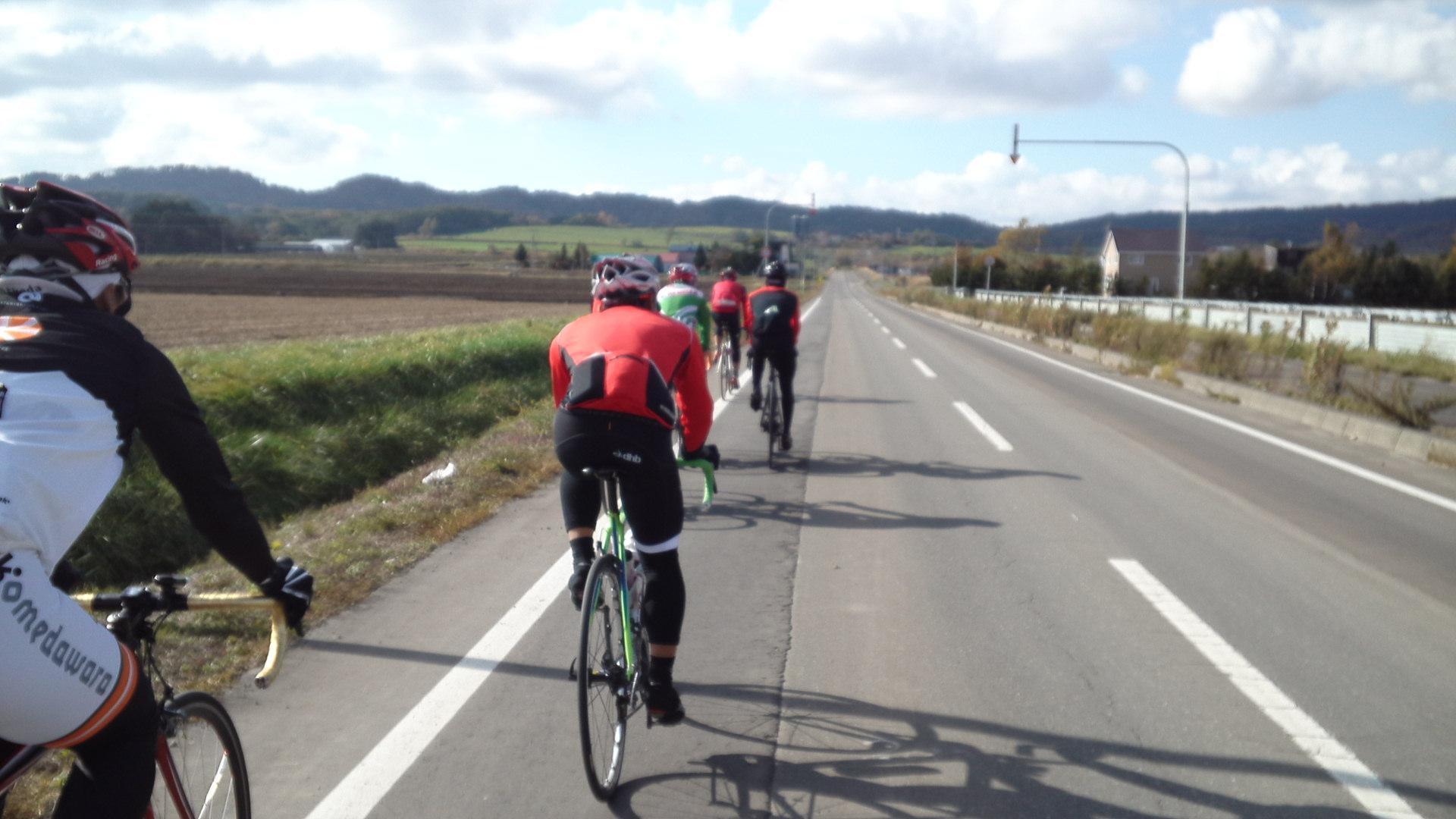 自転車の ヤフー自転車地図 : ハイジの丘の紅葉がきれいで ...