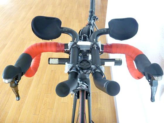 自転車の 自転車 ライト 固定 自作 : 北海道はローカルルールで ...