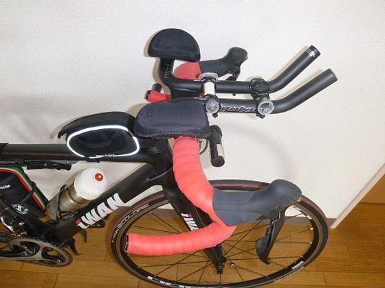 自転車の 自転車 ライト 固定 自作 : サイコン用の台座を自作し ...