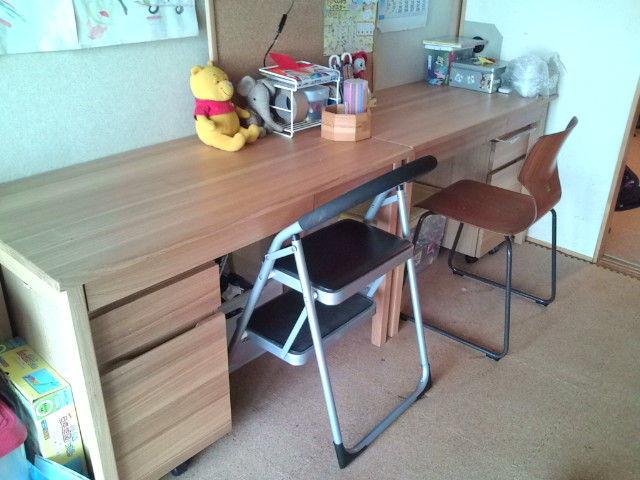 長く使いたい大人シンプルな家具(子供の勉強机)~無印良品・アクタスがいいね~