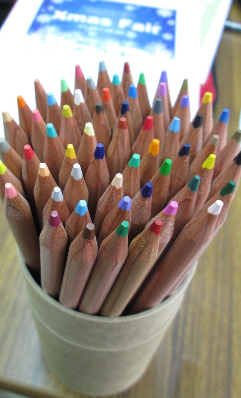 無印良品色鉛筆レビュー&色選びしやすいようにカスタマイズしてみました☆