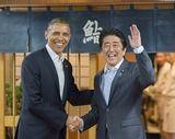 4.24 安倍首相とオバマ大統領 次郎前