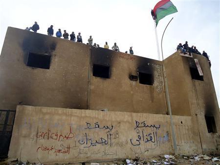 リビア政情不安
