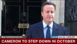 キャメロン英首相辞意表明