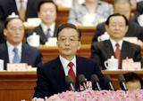 中国全人代 温家宝首相
