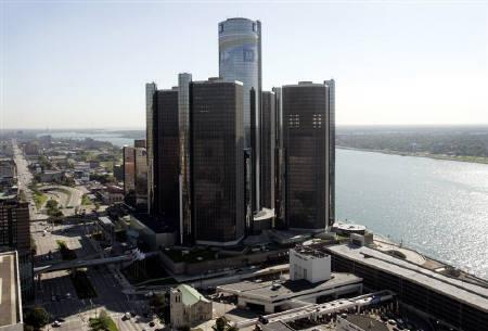 GM本社(米ミシガン州デトロイト)