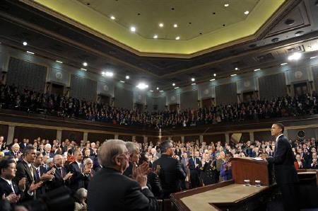 1.27. オバマ米大統領が上下両院合同会議で行った初の一般教書演説