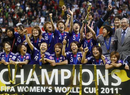 7.19 サッカー女子W杯 日本 祝優勝