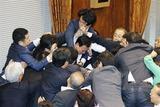参院特別委安保関連法案の採決9.17
