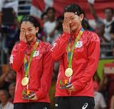 女子複決勝 タカマツペア金メダル