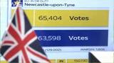 英国国民投票開票