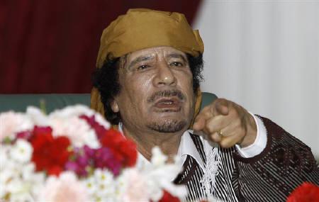 3.3 リビアのカダフィ大佐