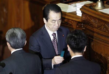 6.2 内閣不信任決議案は衆院本会議で、反対多数で否決