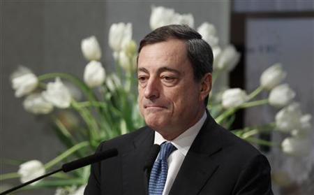 12.8 欧州中央銀行(ECB)ドラギ総裁