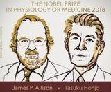 ノーベル医学生理学賞2018