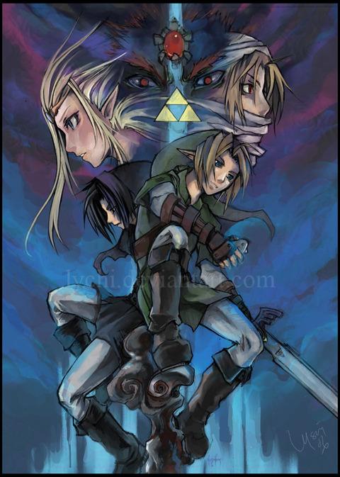Zelda_by_lychi