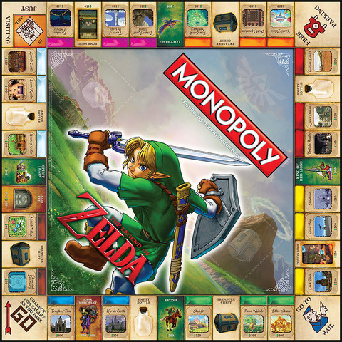 Monopoly_Zelda_gameboard