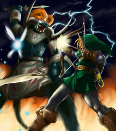 Link_VS__Ganon_final_by_gts