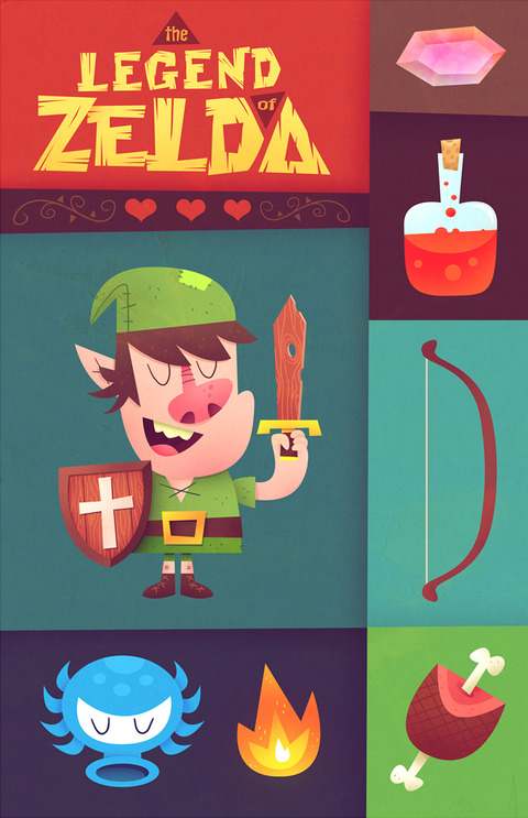 the_legend_of_zelda_by_skutterfly-d4i33is