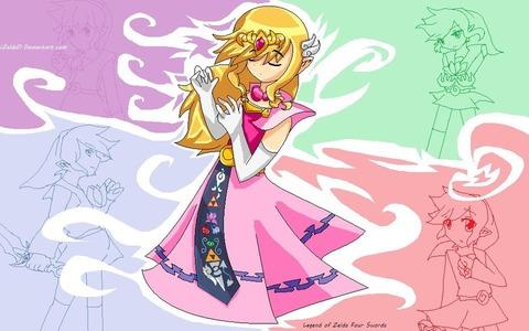 four_swords_plus__princess_zelda_by_izelda11-d53m0qc