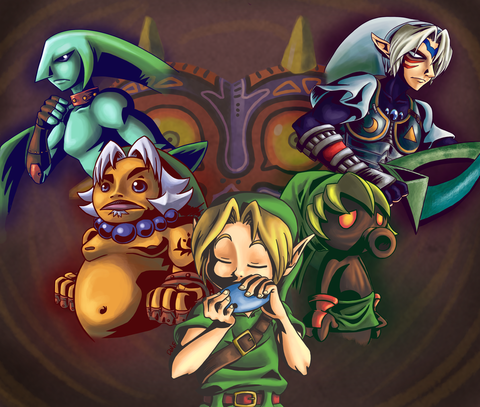 The_curse_of_Majora__s_Mask_by_princessdabby