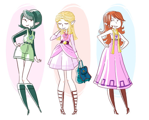 ocarina_of_time_fashion_girls_by_yllya-d46zvyk