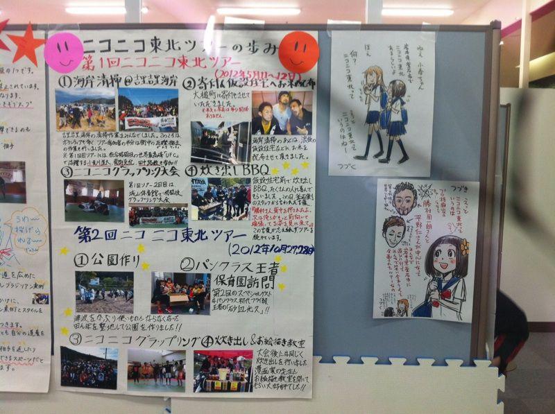 【14ニコニコ】第6回写真壁新聞