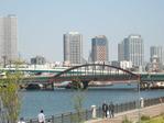 晴海運河の鉄橋1