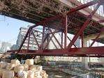 竪川の鉄橋