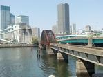 晴海運河の鉄橋
