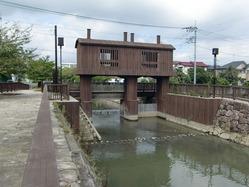 木造の水門