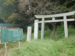 鹿島神社古墳?